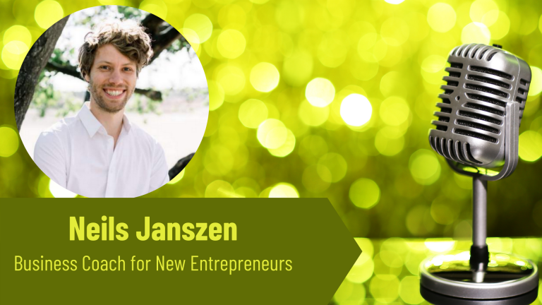 Neils Janszen Business Coach on the Thriving Solopreneur Podcast with Janine Bolon