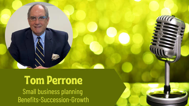 Tom Perrone Small Business Planning on the Thriving Solopreneur Podcast with Janine Bolon