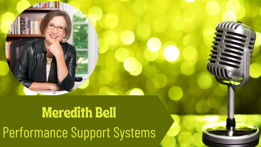 Meredith Bell, Performance Support Systems on the Thriving Solopreneur Podcast with Janine Bolon