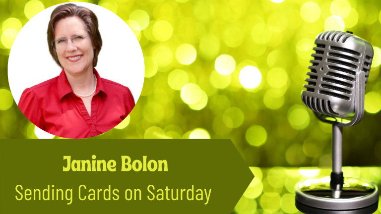 Janine Bolons, Sending Cards on Saturday on the Thriving Solopreneur podcast