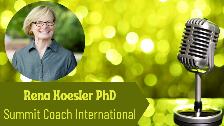Rena Koesler PhD Summit Coach International on the Thriving Solopreneur Podcast with Janine Bolon