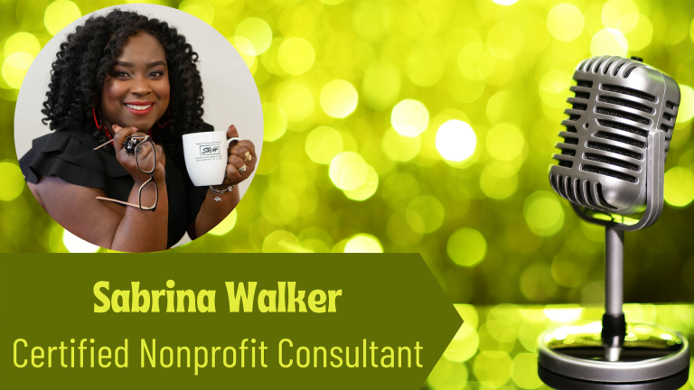 Sabrina Walker, Certified Nonprofit Consultant on the Thriving Solopreneur Podcast with Janine Bolon