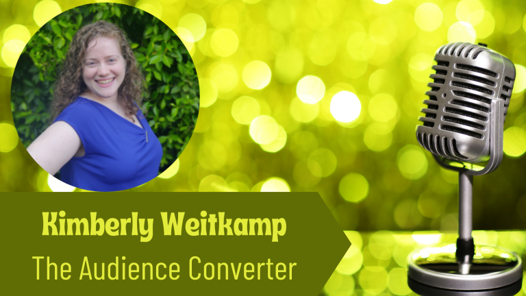 Kimberly Weitcamp, Owner of The Audience Converter on the Thriving Solopreneur Podcast with Janine Bolon