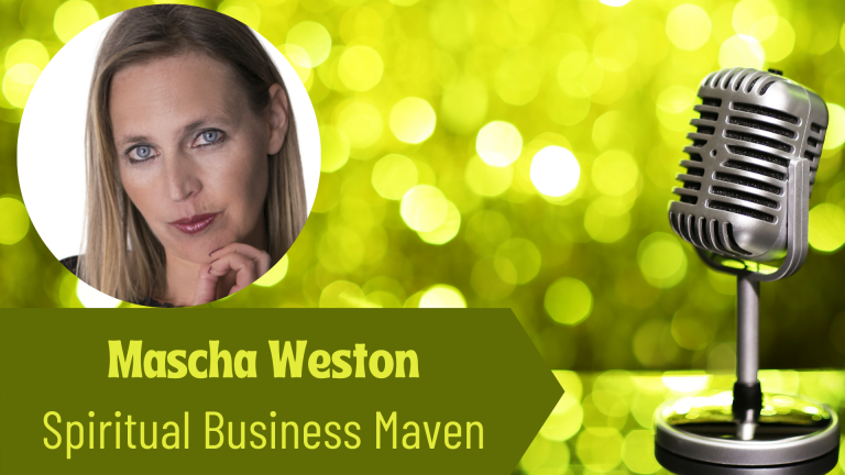 Mascha Weston, The Spiritual Maven on the Thriving Solopreneur Podcast with Janine Bolon