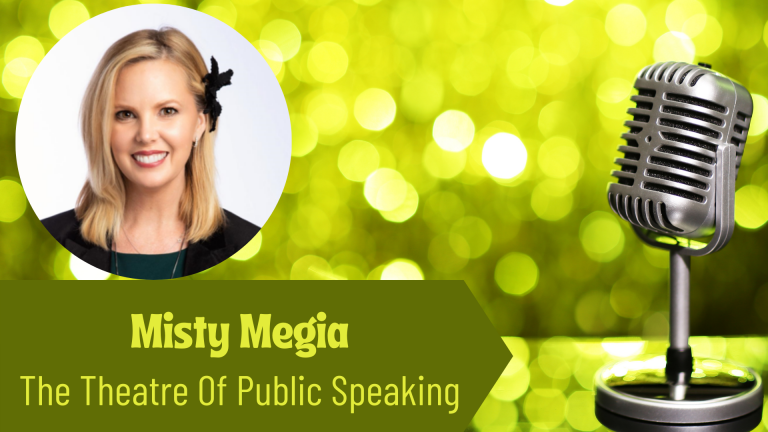 The Thriving Solopreneur Podcast Show with Misty Magia, and Janine Bolon: The Theatre Of Public Speaking